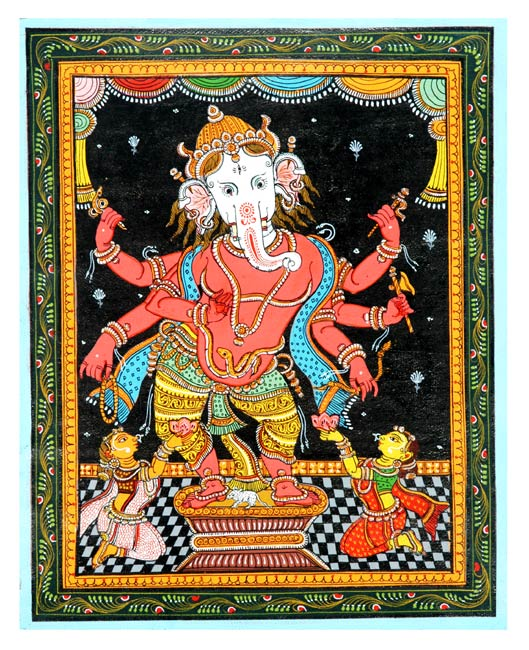 Elephant God Ganesha 8""