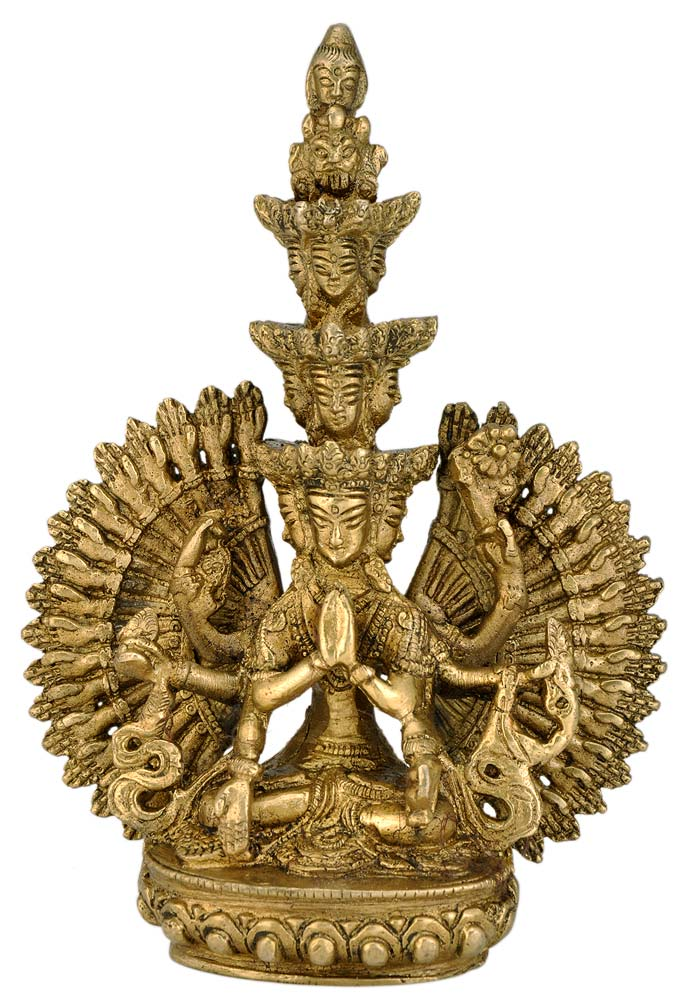 Elevan Headed Thousand Armed Avalokiteshvara