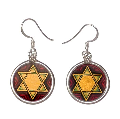 'Star of David' Earrings