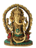 Ganesha with Decorative Aureole