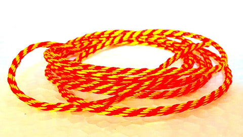 Raksha Sutra 10 Meter Colour - Red and Yellow