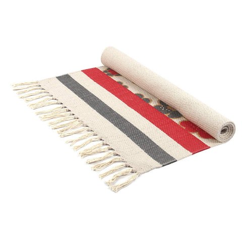 Cotton Mat for Ritual Place (1.5 Feet X 2.5 Feet)