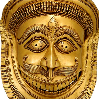 Lord Bhairava - Wall Hanging Mask