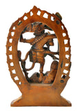 Brass Nataraja Colored Finish Statue