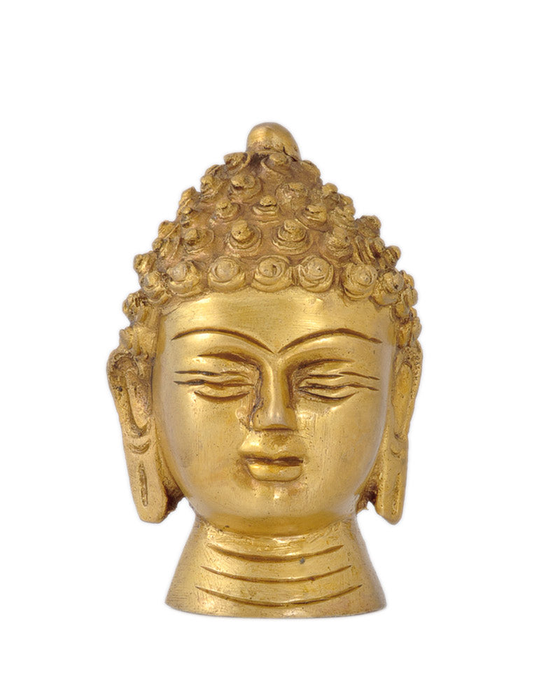 Decorative Brass Buddha Head