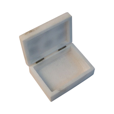 Alabaster Jewelry Box