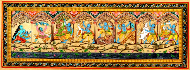 Paintings From Srimad Bhagavatam