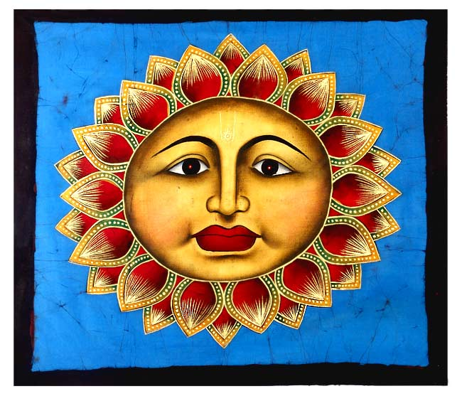 'Surya' The Sun - Batik Painting