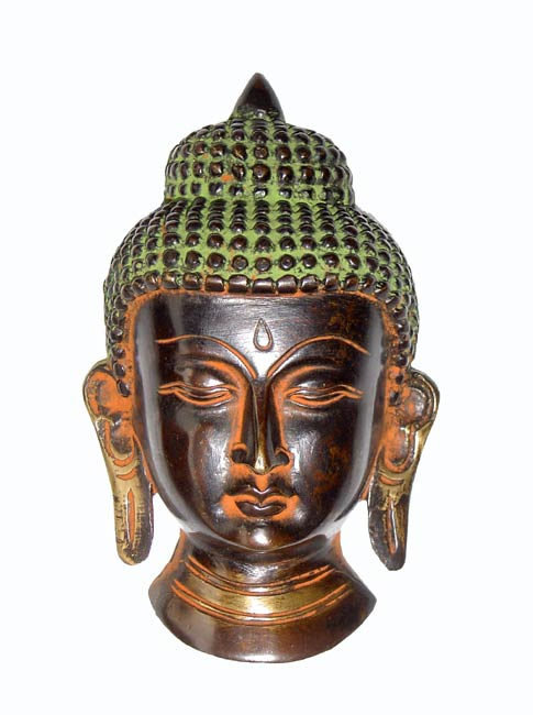 Buddha Mask-Brass Craft
