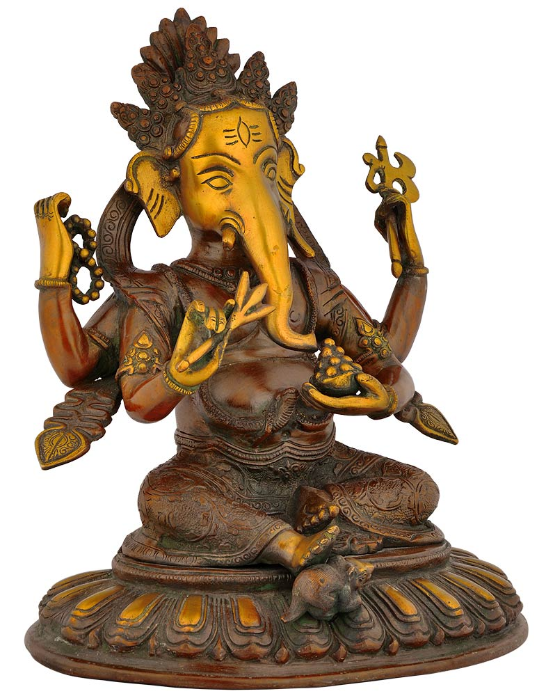 The Elephant God - Fine Ganesha Statue