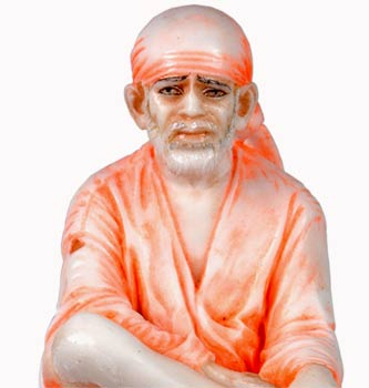 Sai Baba - Hand Painted Statue