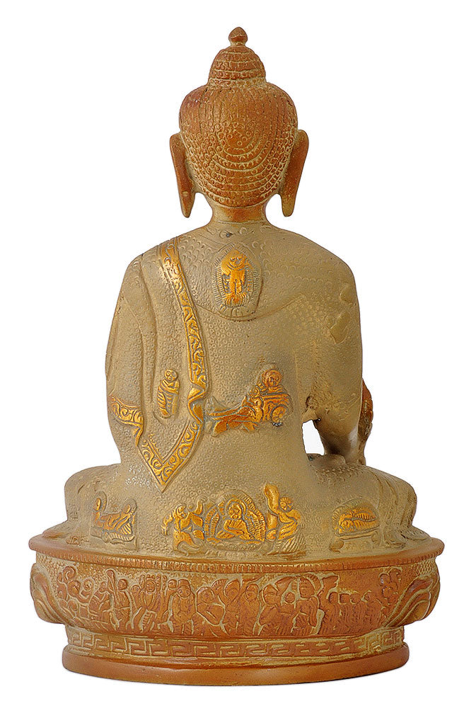 Medicine Buddha Antique Copper Imitation