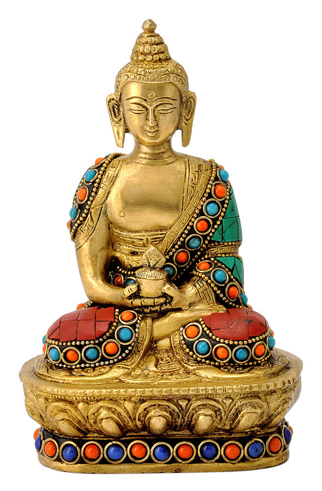 Mediating Lord Buddha