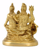 Lord Shiva Parivar Brass Idol