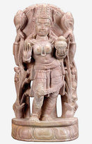 'Devi Lakshmi' Goddess of Wealth - Stone Statue