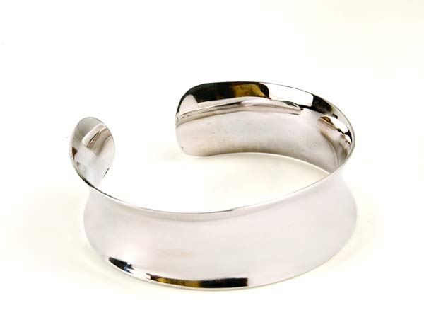 Unconditional Love - Silver Cuff Bracelet