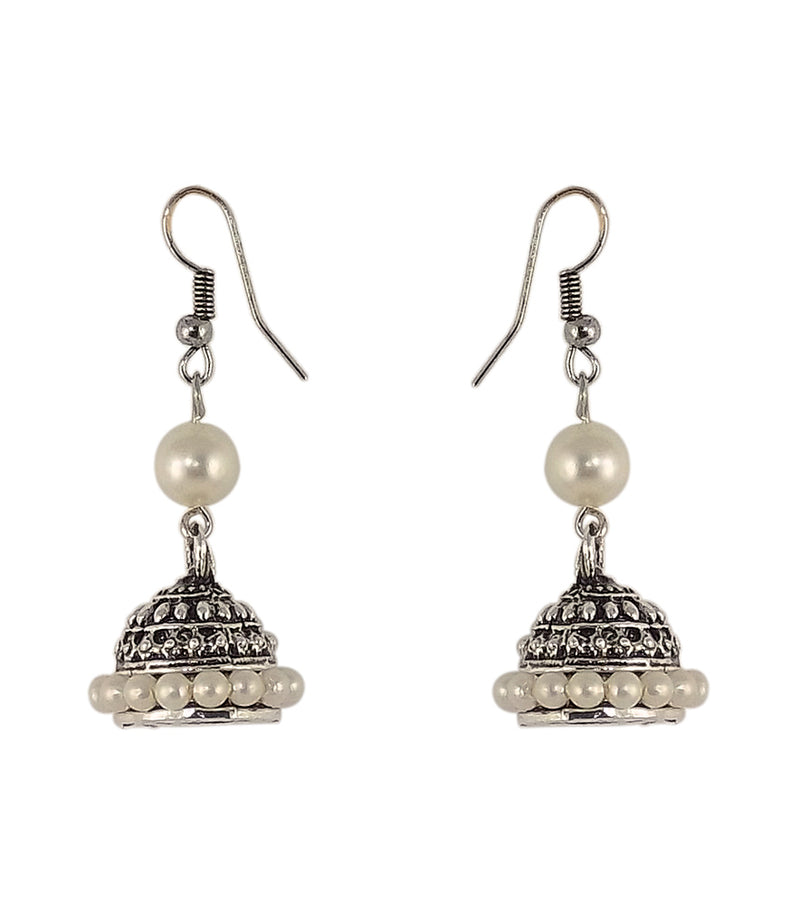 Beautiful Peals Earrings Jhumkas for Girls and Womens