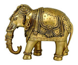 Royal Elephants - Brass Statuettes