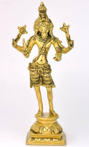 "Avatar of Lord Vishnu ""Hayagriva"" Brass Statue 9"""