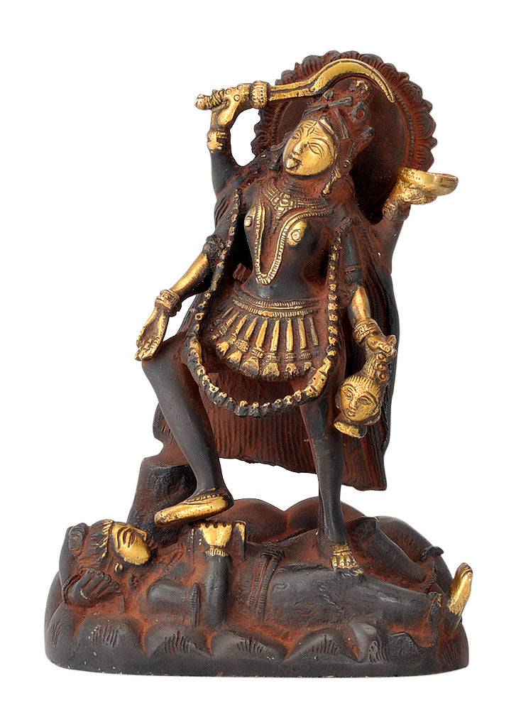 Antiquated Brass Kali