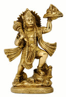 Lord Hanuman Carrying Herbs Mountain