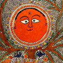 'Sun God' The Preserver of Nature - Madhubani Painting