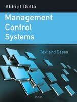 Management Control Systems: Text And Cases