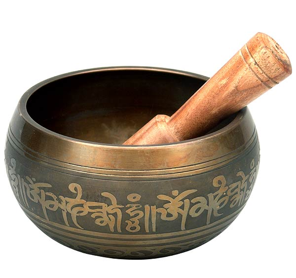 'Aum Mani Padme Hum' Singing Bowl