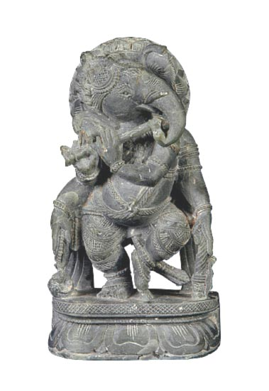 Ganesha as Flute Palyer 6""