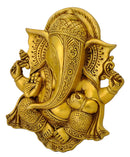 Beautiful Ganesha Brass Wall Plaque