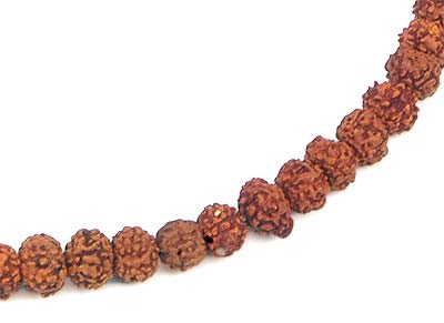 Panchmukhi Five Faced Rudraksha Beads Mala