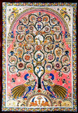 Blossoming Tree - Large Kalamkari Painting