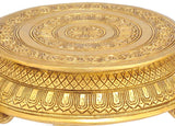 Decorative Brass Chowki with Yalli Motif