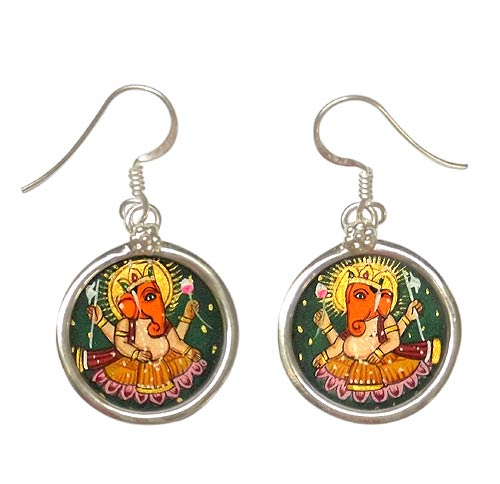 Lord Gajanan Ganesha -  Earrings
