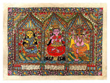 The Elephant God with Mother Goddesses