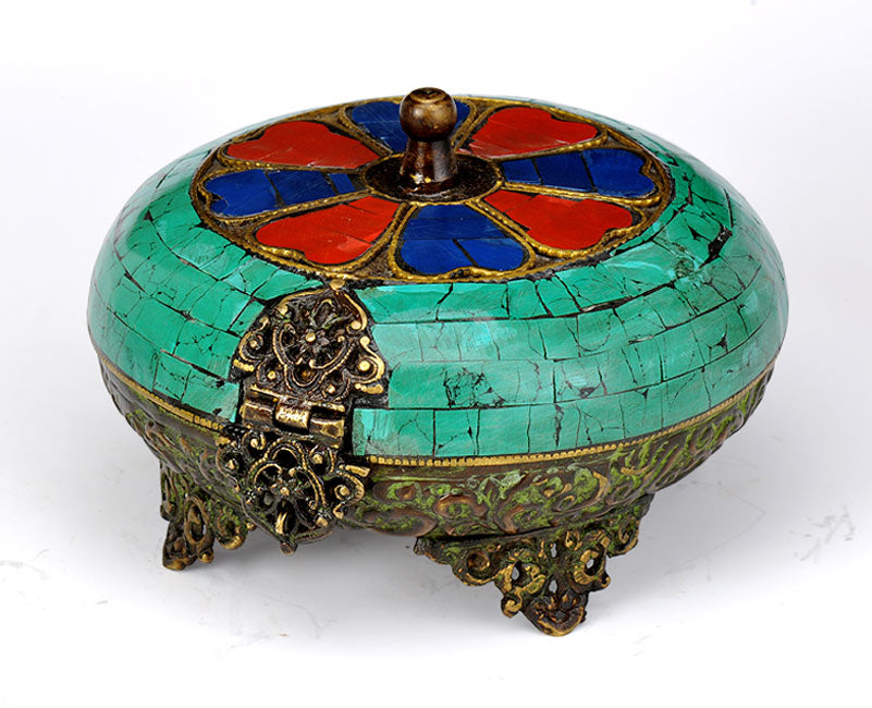 Tibetan Jewerly Box