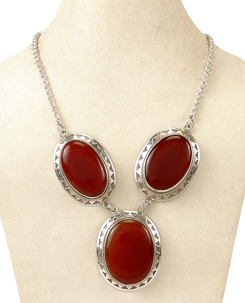 Passionate Red - Onyx Necklace