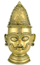 Lord Shiva - Brass Wall Hanging Mask