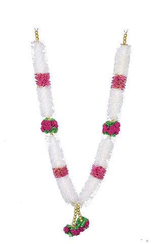 Bridal Garland (White & Pink)