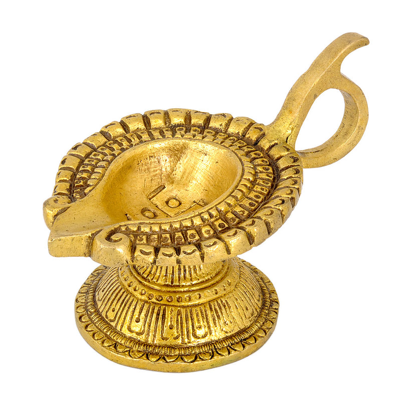 "Brass ""Arti Diya"" - Deepak for Pooja Room"