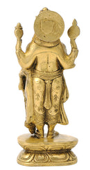 Lord Vishnu Brass Figure