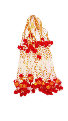 Artificial Flowers Moti Pooja Haar (1 pc.)