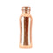 Leak Proof Curved Design Copper Water Bottle 650 ml
