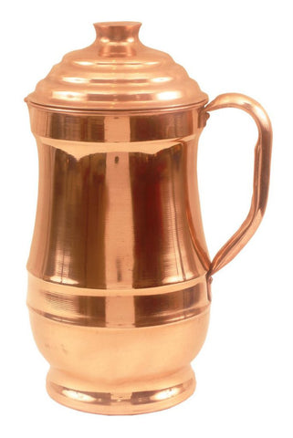 Indian Traditional Design Jug with Lid 1.4 ltr
