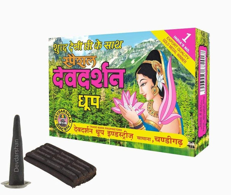 Devdarshan Special Dhoop Large, 50g in Each Unit