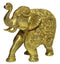 Elegant Elephant Brass Statue Showpiece
