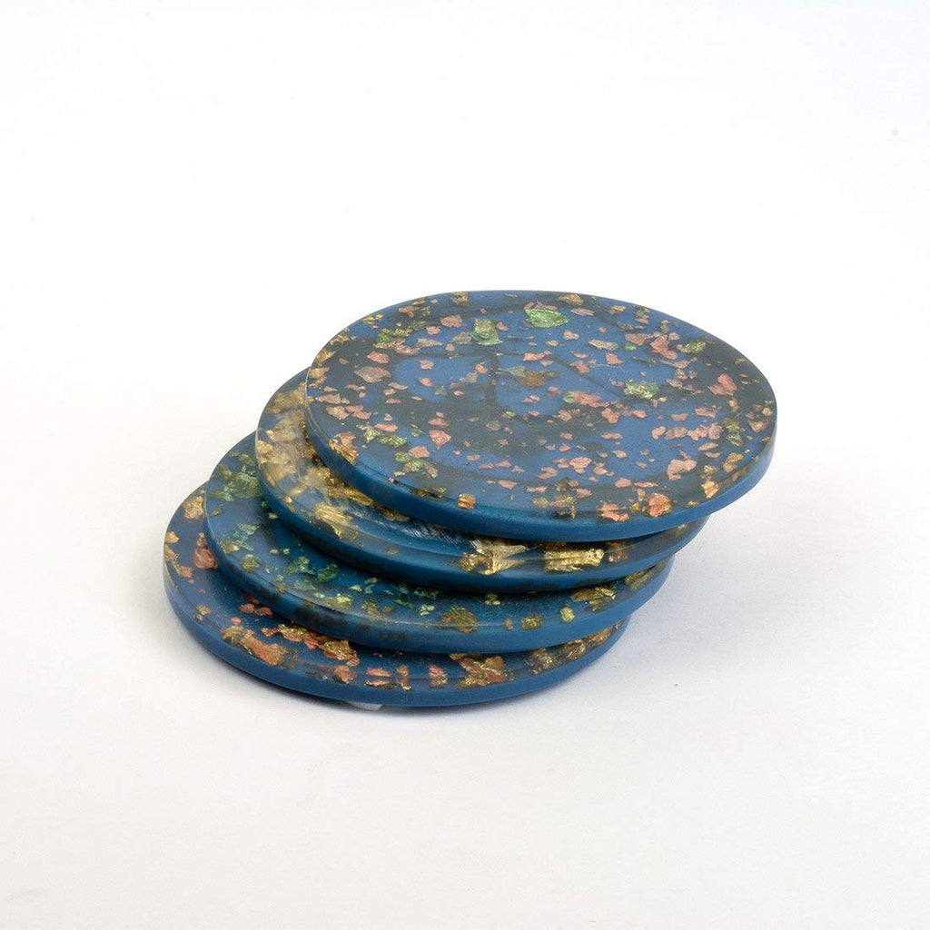 Handmade Resin Table Coasters Set of 4