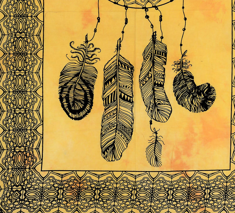 Dream Catcher Cotton Tapestry Wall Hanging, Hippy Wall Hanging Tapestry