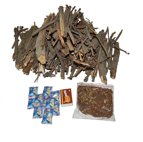 Shubh Hawan Pooja Kit with Mango Tree Wood