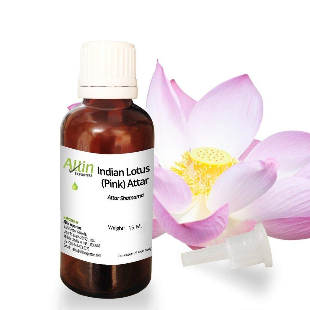 Indian pink lotus attar 15 ml